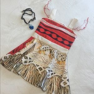 Other - Cute Pocahontas costume for baby girl w/ necklace